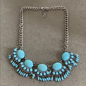 Jewelry - Necklace (Silver/turquoise)